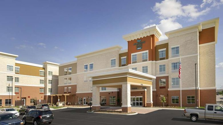 """Homewood Suites Kansas City Speedway Exterior. Images powered by <a href=""""http://web.iceportal.com"""" target=""""_blank"""" rel=""""noopener"""">Ice Portal</a>."""