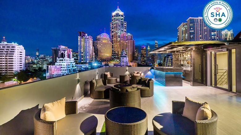 """SureStay Plus Hotel by BW Sukhumvit 2 Exterior. Images powered by <a href=""""http://web.iceportal.com"""" target=""""_blank"""" rel=""""noopener"""">Ice Portal</a>."""