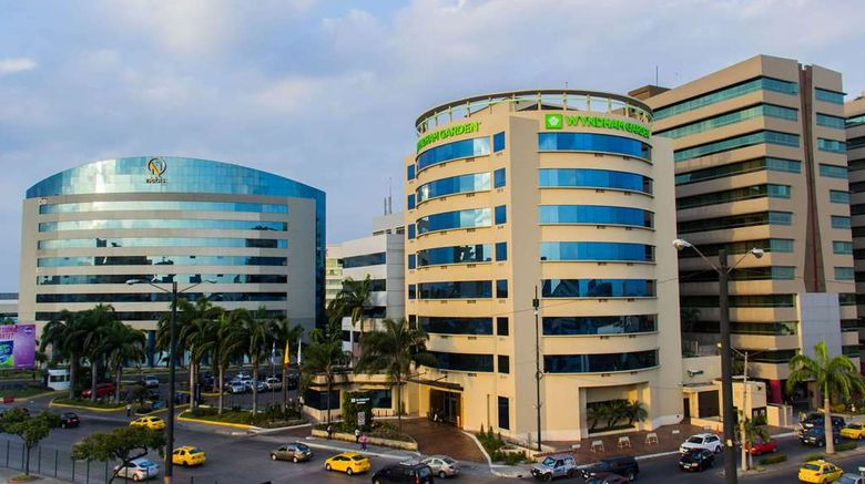 """Wyndham Garden Guayaquil Exterior. Images powered by <a href=""""http://web.iceportal.com"""" target=""""_blank"""" rel=""""noopener"""">Ice Portal</a>."""