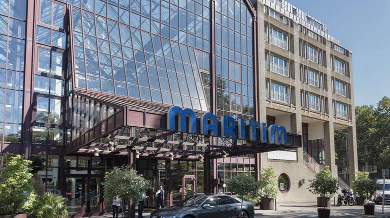 """Maritim Hotel Koeln Exterior. Images powered by <a href=""""http://web.iceportal.com"""" target=""""_blank"""" rel=""""noopener"""">Ice Portal</a>."""