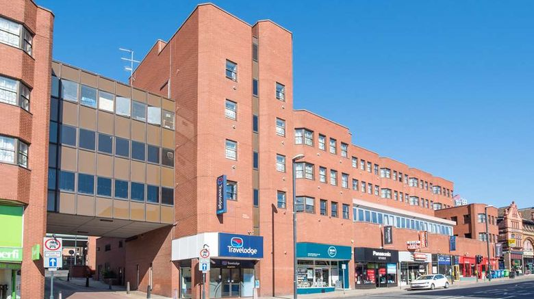 """Travelodge Leeds Central Vicar Lane Exterior. Images powered by <a href=""""http://web.iceportal.com"""" target=""""_blank"""" rel=""""noopener"""">Ice Portal</a>."""