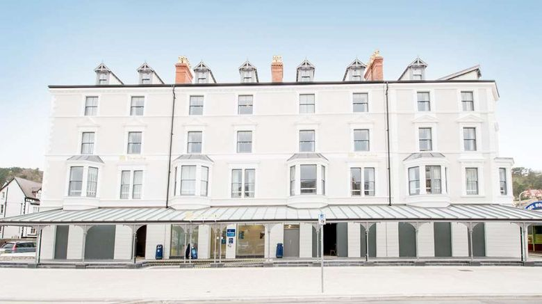 """Travelodge Llandudno Exterior. Images powered by <a href=""""http://web.iceportal.com"""" target=""""_blank"""" rel=""""noopener"""">Ice Portal</a>."""