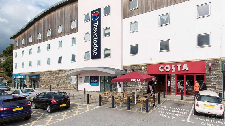 "Travelodge St Austell Hotel Exterior. Images powered by <a href=""http://web.iceportal.com"" target=""_blank"" rel=""noopener"">Ice Portal</a>."