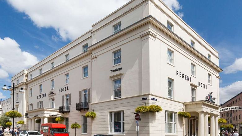 """Travelodge The Regent Hotel Leamington Exterior. Images powered by <a href=""""http://web.iceportal.com"""" target=""""_blank"""" rel=""""noopener"""">Ice Portal</a>."""