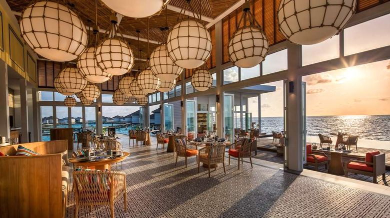 """Raffles Maldives Meradhoo Resort Exterior. Images powered by <a href=""""http://web.iceportal.com"""" target=""""_blank"""" rel=""""noopener"""">Ice Portal</a>."""