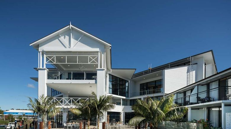 """Sails Resort Port Macquarie by Rydges Exterior. Images powered by <a href=""""http://web.iceportal.com"""" target=""""_blank"""" rel=""""noopener"""">Ice Portal</a>."""
