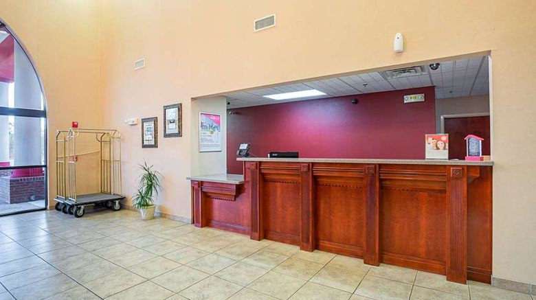 """FairBridge Inn Express Whitley City Lobby. Images powered by <a href=""""http://web.iceportal.com"""" target=""""_blank"""" rel=""""noopener"""">Ice Portal</a>."""