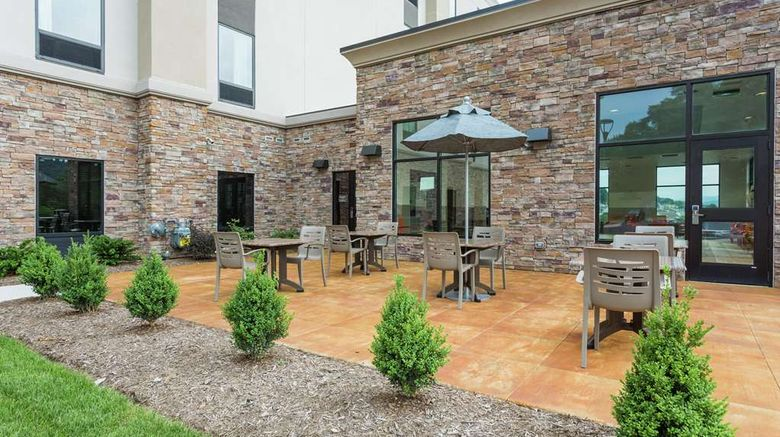 """Hampton Inn Cumberland Exterior. Images powered by <a href=""""http://web.iceportal.com"""" target=""""_blank"""" rel=""""noopener"""">Ice Portal</a>."""