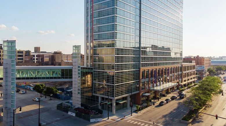 """Home2 Suites Chicago McCormick Place Exterior. Images powered by <a href=""""http://web.iceportal.com"""" target=""""_blank"""" rel=""""noopener"""">Ice Portal</a>."""