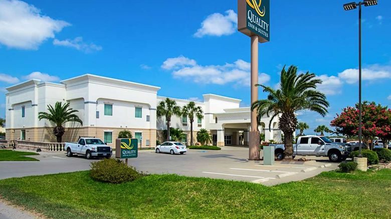 """Quality Inn  and  Suites Robstown Exterior. Images powered by <a href=""""http://web.iceportal.com"""" target=""""_blank"""" rel=""""noopener"""">Ice Portal</a>."""