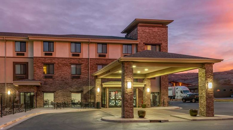 """Sleep Inn  and  Suites Moab Exterior. Images powered by <a href=""""http://web.iceportal.com"""" target=""""_blank"""" rel=""""noopener"""">Ice Portal</a>."""