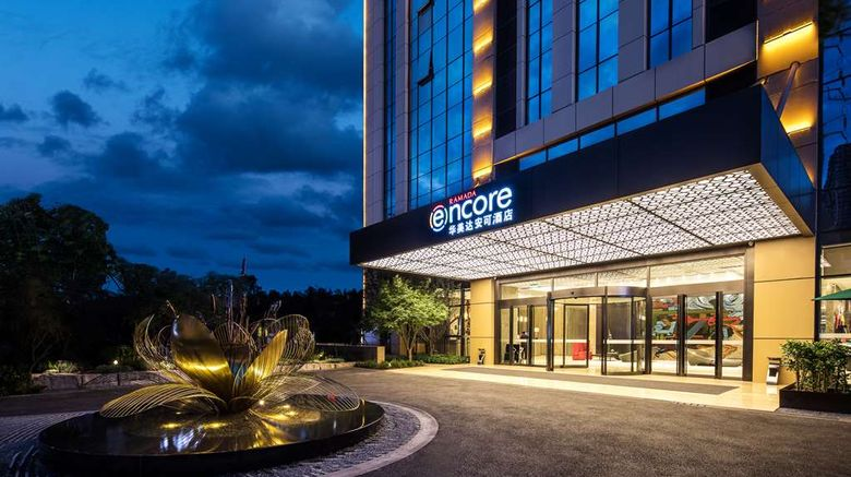 """Ramada Encore Chongqing Yubei Exterior. Images powered by <a href=""""http://web.iceportal.com"""" target=""""_blank"""" rel=""""noopener"""">Ice Portal</a>."""