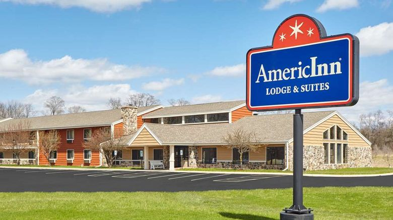 """AmericInn by Wyndham Burlington Exterior. Images powered by <a href=""""http://web.iceportal.com"""" target=""""_blank"""" rel=""""noopener"""">Ice Portal</a>."""