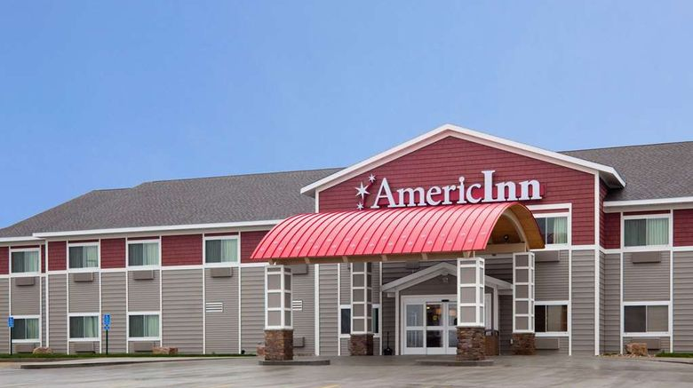 """AmericInn by Wyndham Sibley Exterior. Images powered by <a href=""""http://web.iceportal.com"""" target=""""_blank"""" rel=""""noopener"""">Ice Portal</a>."""