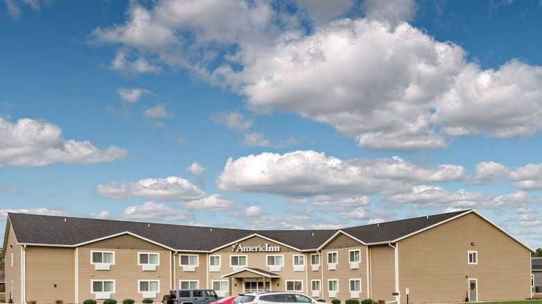 """AmericInn by Wyndham Sleepy Eye Exterior. Images powered by <a href=""""http://web.iceportal.com"""" target=""""_blank"""" rel=""""noopener"""">Ice Portal</a>."""
