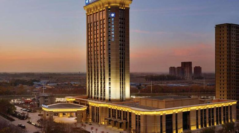 """Wyndham Urumqi North Exterior. Images powered by <a href=""""http://web.iceportal.com"""" target=""""_blank"""" rel=""""noopener"""">Ice Portal</a>."""