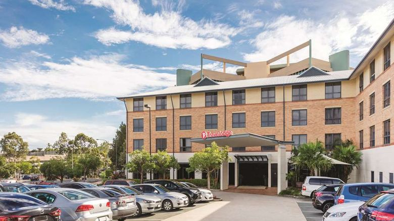 """Travelodge Garden City Brisbane Exterior. Images powered by <a href=""""http://web.iceportal.com"""" target=""""_blank"""" rel=""""noopener"""">Ice Portal</a>."""