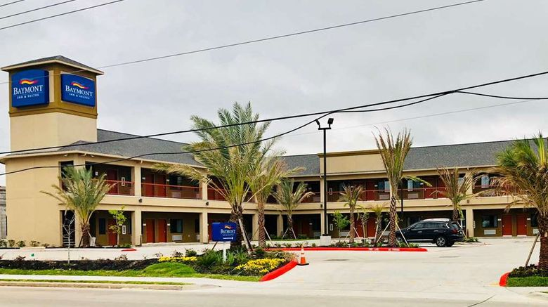 """Baymont by Wyndham Houston Hobby Airport Exterior. Images powered by <a href=""""http://web.iceportal.com"""" target=""""_blank"""" rel=""""noopener"""">Ice Portal</a>."""