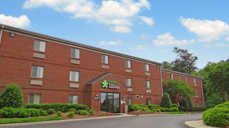 """Extended Stay America Stes Raleigh Rtp54 Exterior. Images powered by <a href=""""http://web.iceportal.com"""" target=""""_blank"""" rel=""""noopener"""">Ice Portal</a>."""