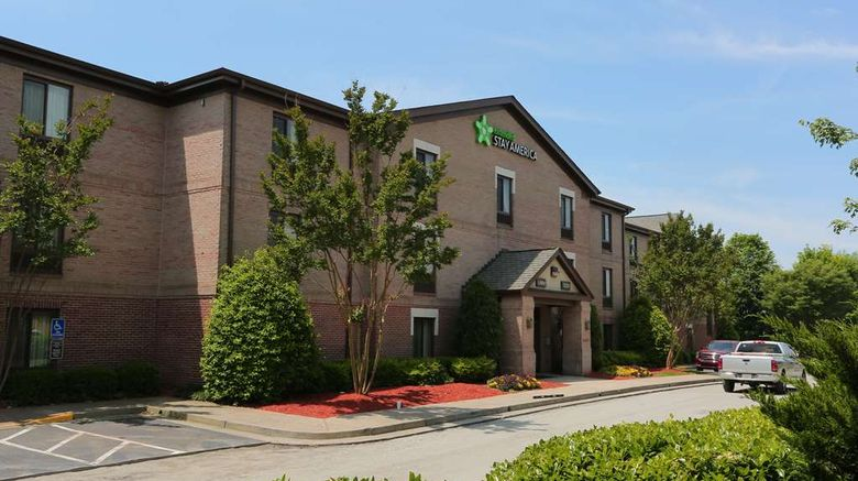 """Extended Stay America Stes Northpoint E Exterior. Images powered by <a href=""""http://web.iceportal.com"""" target=""""_blank"""" rel=""""noopener"""">Ice Portal</a>."""