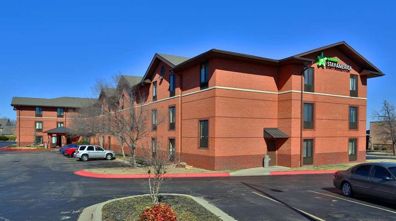 """Extended Stay America Stes Ok City Nw Exterior. Images powered by <a href=""""http://web.iceportal.com"""" target=""""_blank"""" rel=""""noopener"""">Ice Portal</a>."""