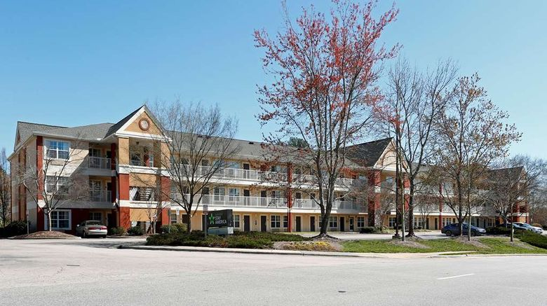 """Extended Stay America Stes Rdu Airport Exterior. Images powered by <a href=""""http://web.iceportal.com"""" target=""""_blank"""" rel=""""noopener"""">Ice Portal</a>."""