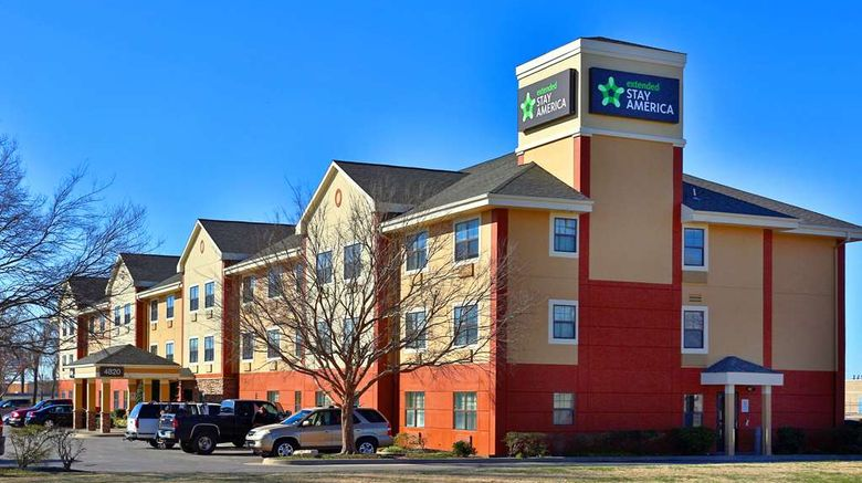 """Extended Stay America Stes Okc Airport Exterior. Images powered by <a href=""""http://web.iceportal.com"""" target=""""_blank"""" rel=""""noopener"""">Ice Portal</a>."""