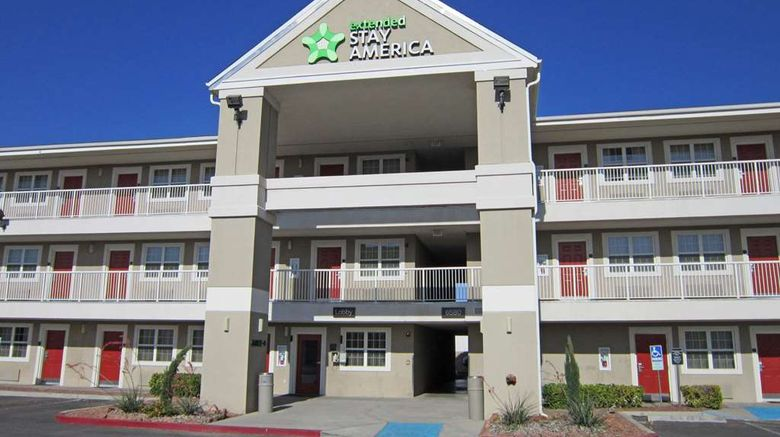 """Extended Stay America Stes El Paso Airpo Exterior. Images powered by <a href=""""http://web.iceportal.com"""" target=""""_blank"""" rel=""""noopener"""">Ice Portal</a>."""
