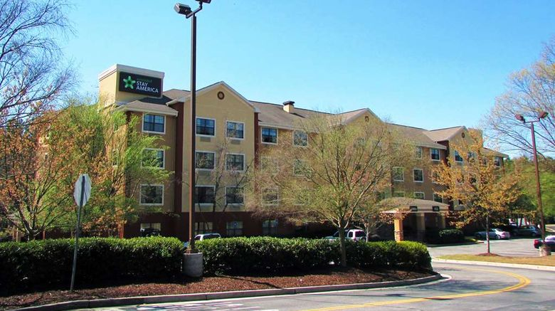 """Extended Stay America Stes Perimeter Cre Exterior. Images powered by <a href=""""http://web.iceportal.com"""" target=""""_blank"""" rel=""""noopener"""">Ice Portal</a>."""