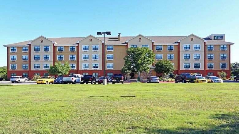 """Extended Stay America Stes Austin Sw Exterior. Images powered by <a href=""""http://web.iceportal.com"""" target=""""_blank"""" rel=""""noopener"""">Ice Portal</a>."""