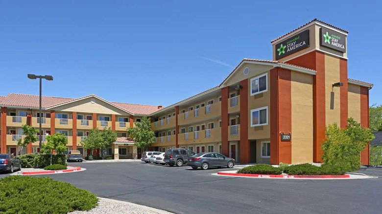"""Extended Stay America Stes Abq Airport Exterior. Images powered by <a href=""""http://web.iceportal.com"""" target=""""_blank"""" rel=""""noopener"""">Ice Portal</a>."""