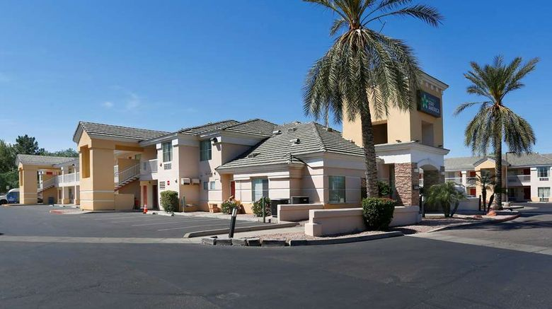 """Extended Stay America Stes Phx Airport E Exterior. Images powered by <a href=""""http://web.iceportal.com"""" target=""""_blank"""" rel=""""noopener"""">Ice Portal</a>."""