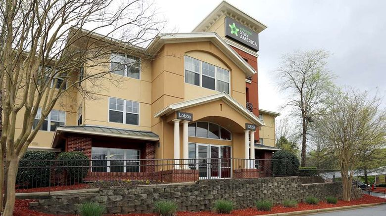 """Extended Stay America Stes Northpoint W Exterior. Images powered by <a href=""""http://web.iceportal.com"""" target=""""_blank"""" rel=""""noopener"""">Ice Portal</a>."""