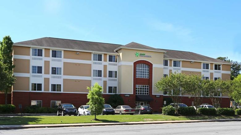 """Extended Stay America Stes Buckhead Exterior. Images powered by <a href=""""http://web.iceportal.com"""" target=""""_blank"""" rel=""""noopener"""">Ice Portal</a>."""