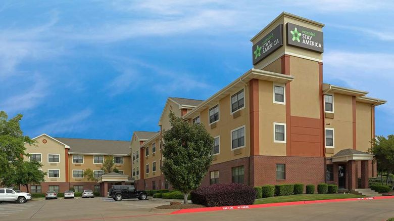 """Extended Stay America Stes Dallas Lewisv Exterior. Images powered by <a href=""""http://web.iceportal.com"""" target=""""_blank"""" rel=""""noopener"""">Ice Portal</a>."""