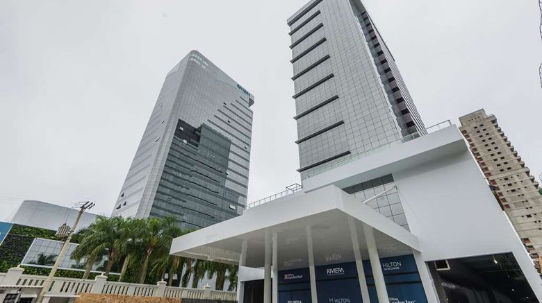 """Hilton Garden Inn Itajai Exterior. Images powered by <a href=""""http://web.iceportal.com"""" target=""""_blank"""" rel=""""noopener"""">Ice Portal</a>."""