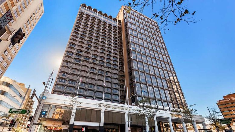 """The Sydney Boulevard Hotel Exterior. Images powered by <a href=""""http://web.iceportal.com"""" target=""""_blank"""" rel=""""noopener"""">Ice Portal</a>."""