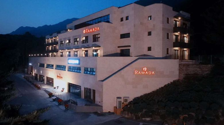 """Ramada Resort by Wyndham MungyeongSaejae Exterior. Images powered by <a href=""""http://web.iceportal.com"""" target=""""_blank"""" rel=""""noopener"""">Ice Portal</a>."""