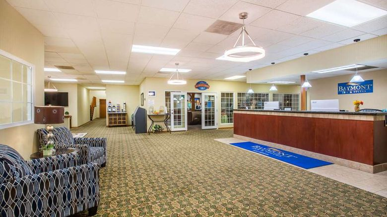 """Baymont by Wyndham Fort Morgan Lobby. Images powered by <a href=""""http://web.iceportal.com"""" target=""""_blank"""" rel=""""noopener"""">Ice Portal</a>."""