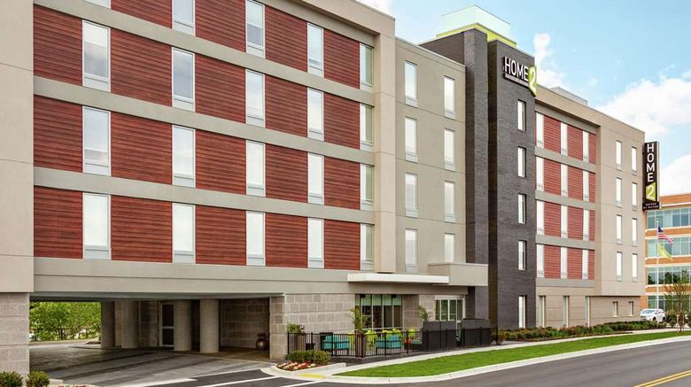 """Home2 Suites by Hilton Silver Spring Exterior. Images powered by <a href=""""http://web.iceportal.com"""" target=""""_blank"""" rel=""""noopener"""">Ice Portal</a>."""