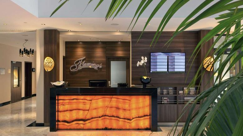 """Flemings Selection Hotel Frankfurt-City Lobby. Images powered by <a href=""""http://web.iceportal.com"""" target=""""_blank"""" rel=""""noopener"""">Ice Portal</a>."""