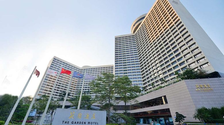 """The Garden Hotel, Guangzhou Exterior. Images powered by <a href=""""http://web.iceportal.com"""" target=""""_blank"""" rel=""""noopener"""">Ice Portal</a>."""