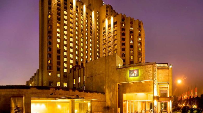 """The LaLiT New Delhi Exterior. Images powered by <a href=""""http://web.iceportal.com"""" target=""""_blank"""" rel=""""noopener"""">Ice Portal</a>."""