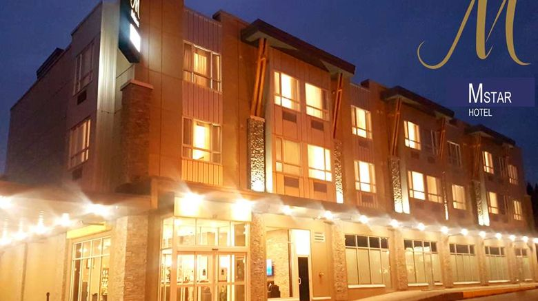 """MStar Hotel Exterior. Images powered by <a href=""""http://web.iceportal.com"""" target=""""_blank"""" rel=""""noopener"""">Ice Portal</a>."""