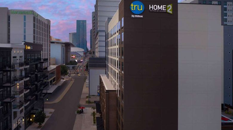 """Tru By Hilton Nashville Downtown ConvCtr Exterior. Images powered by <a href=""""http://web.iceportal.com"""" target=""""_blank"""" rel=""""noopener"""">Ice Portal</a>."""