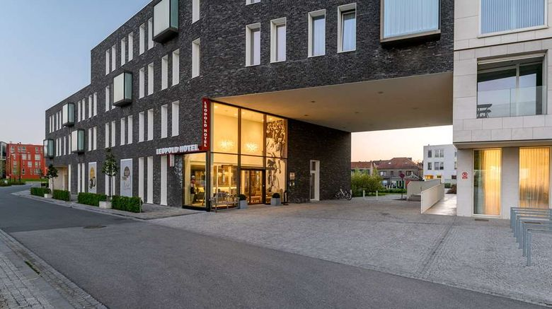 "Leopold Hotel Oudenaarde Exterior. Images powered by <a href=""http://web.iceportal.com"" target=""_blank"" rel=""noopener"">Ice Portal</a>."