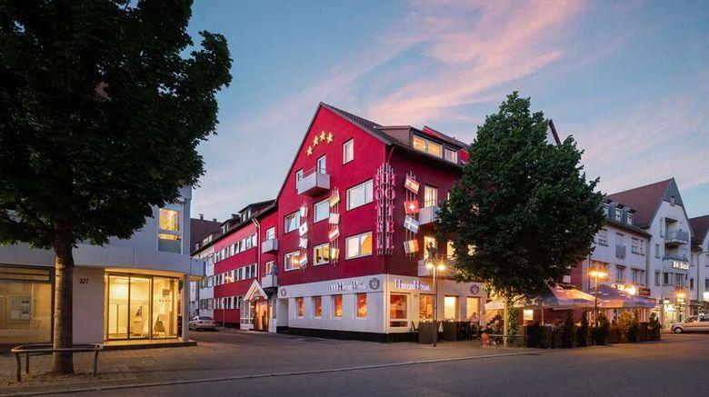 "Hetzel Hotel Stuttgart Exterior. Images powered by <a href=""http://web.iceportal.com"" target=""_blank"" rel=""noopener"">Ice Portal</a>."