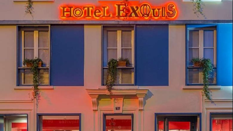 """Hotel Exquis by Elegancia Bastille Exterior. Images powered by <a href=""""http://web.iceportal.com"""" target=""""_blank"""" rel=""""noopener"""">Ice Portal</a>."""