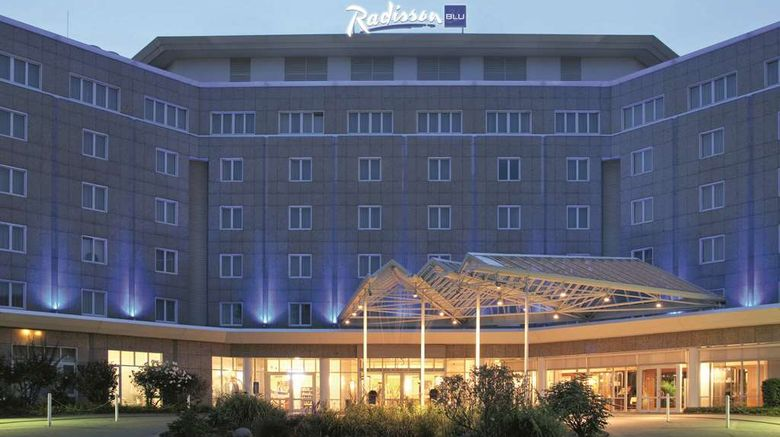 """Radisson Blu Hotel Dortmund Exterior. Images powered by <a href=""""http://web.iceportal.com"""" target=""""_blank"""" rel=""""noopener"""">Ice Portal</a>."""
