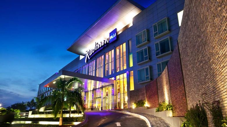 """Radisson Blu Anchorage Hotel, Lagos VI Exterior. Images powered by <a href=""""http://web.iceportal.com"""" target=""""_blank"""" rel=""""noopener"""">Ice Portal</a>."""
